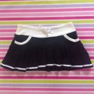 Tralala Black Sporty Mini Skirt Size S Japanese Fashion