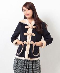 Secret Honey By Honey Bunch Winter Coat Jacket Nordic Style Shibuya 109