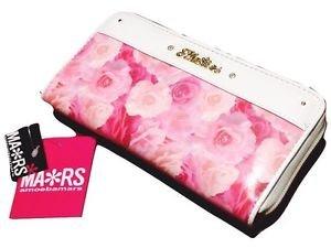 MA*RS Jewel Rose Glitter Stone White Wallet Gyaru Fashion