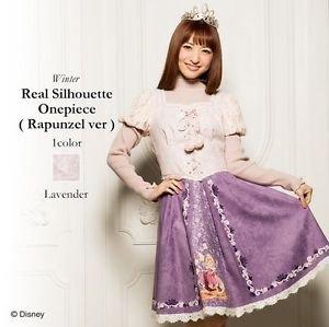 Authentic Disney Rapunzel Winter Dress by Secret Honey Japan