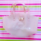 Liz Lisa Pink Rubber Tote Bag With Bow