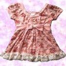 Liz Lisa Vintage Old Style Pink Roses Top Japanese Hime Gyaru Fashion