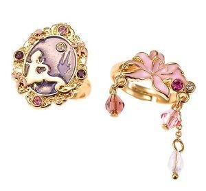 Angelic Pretty x Disney Store Japan Collaboration Dreamy Luna Lolita 2 Ring Set