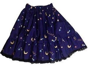 Metamorphose Crown Label Sweet Shooting Star Skirt in Purple Lolita Fashion