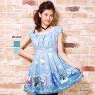 Authentic Disney Frozen Elsa & Anna Dress 2014 Rare Edition Secret Honey Japan