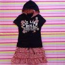 Liz Lisa Tralala Black Skirt Hoodie Onepiece Size S