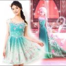Authentic Disney Frozen Fever Elsa 3D Flower Dress by Secret Honey Japan