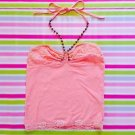 Liz Lisa Pink Top Size XS With Cute Beads