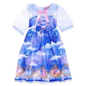 Angelic Pretty x Disney Store Japan Dreamy Luna Rapunzel Lolita JSK Dress