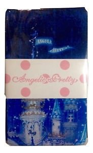 Angelic Pretty Castle Mirage Tights in Navy Lolita Fashion