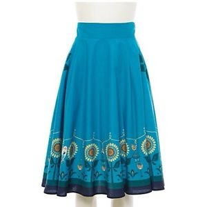 Authentic Disney Frozen Fever Anna Sunflower Long Skirt Secret Honey Japan
