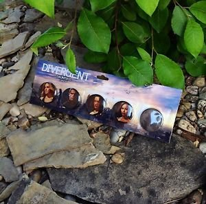 DIVERGENT Dauntless 5 Pin Set Official NECA Merchandise