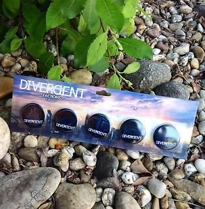 DIVERGENT Factions 5 Pin Set Official NECA Merchandise