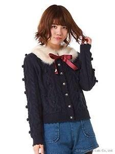 Secret Honey By Honey Bunch Knitted Sweater Japanese Gyaru Fashion Shibuya 109