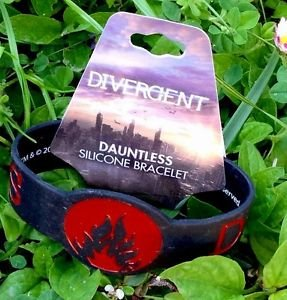 DIVERGENT Dauntless Silicone Bracelet Official NECA Merchandise