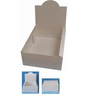 """Multi-Purpose Product Displays - WHITE SEMI-GLOSS - sold """"per piece"""""""