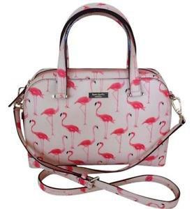 Kate Spade Newbury Felix Flamingo Medium Satchel Shoulder Bag Crossbody Pink