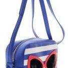 Kate Spade Make A Splash Mindy Shoulder Bag Crossbody Sunglasses Blue White