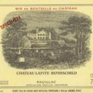MILLESSIMO Château LAFITE ROTHSCHILD PAUILLAC PREMIER GRAND CRU CLASSÉ 1900