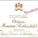 MILLESSIMO Château MOUTON ROTHSCHIELD PAUILLAC PREMIER GRAND CRU CLASSÉ 1945