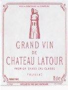 MILLESSIMO Château LATOUR PAUILLAC PREMIER GRAND CRU CLASSÉ 1949
