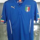 2014-15 Italy Home shirt (Size: L)