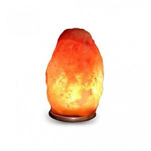 Himalayan Natural Ionic Rock Crystal Salt Night Light Lamp 6 ~ 8 Lbs