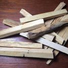 1 oz. Palo Santo Incense Sticks Machine Cut (Bursera graveolens)  Organic Peru