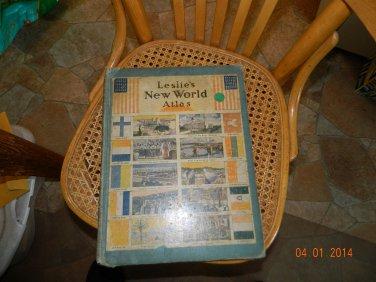 Leslie's New World Atlas,