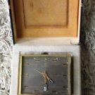 Swiss Cyma Electronic Alarm Clock in Original Box *AS IS*