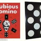 JUMBO ROYAL DUBIOUS DOMINO Magic Trick Card Spots Black White Dots Change Dice