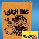1 LAUGH BAG Laughing Toy Gag Prank Joke Gift Funny HA Box Clown Squeeze Trick