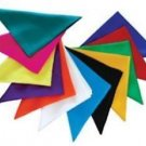 """12 Pack MAGIC SILKS 6"""" Inch Trick Scarf Stage Hanky Assorted Set Magician Scarve"""