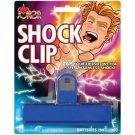 SNACK SHOCK CLIP Potato Chip Bag Holder Shocking Fake Gag Funny Prank Joke Zap
