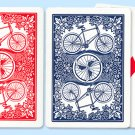 1 BICYCLE RUMMY DECK of Playing Cards Poker Night Game Magic Tricks League Backs
