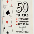 50 EASY MAGIC TRICKS YOU CAN DO WITH REGULAR DECK OF CARDS BOOK How To Playing
