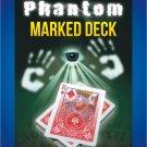 PHANTOM MARKED MAGIC DECK KIT + Magician Tricks Booklet Book Set Playing Cards