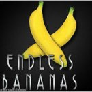 Deluxe ENDLESS LATEX RUBBER BANANAS Multiplying Set Magic Trick Fake Fruit Foam