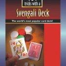EZ SVENGALI DECK BOOK 101 Magic Tricks Force Card Magician Booklet Close Up NEW
