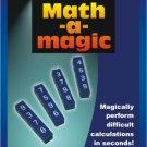 MATH A MAGIC Pocket Trick Close Up Puzzle Blocks Mental Number Prediction Toy