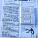 SMALL WHITE THROW COILS 10 Pack Paper Streamer Magic Trick Set Production Stage