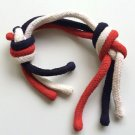RAINBOW PATRIOTIC ROPES Red White Blue Magic Trick USA Color Blend Knot Clown