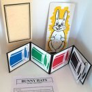 "12"" BUNNY HATS Adairs Rabbit Color Top Kid Show Magic Trick Clown Prop Vanishing"