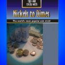 25 TIPS & TRICKS NICKELS TO DIMES BOOK Booklet Coin Magic Pocket Beginner NEW