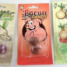 3 Pack GROSS TASTING CANDY SET BACON ONION GARLIC Flavored Prank Joke Gag Hard