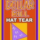 DOLLAR HAT PAPER TEAR Magic Trick Kid Show Restore 10 Set Money Comedy Tissue