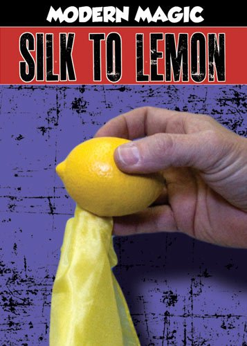 "SILK TO LATEX LEMON 18"" Magic Trick Vanishing Rubber Magician Set Fake Appearing"