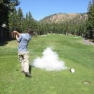 EXPLODING GOLF BALL Prank Gag Joke Golfer Trick Explodes into Cloud Smoke GIFT
