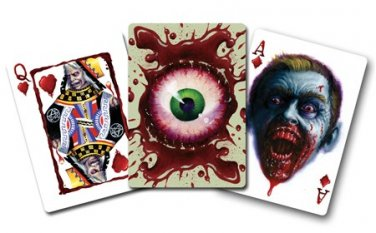 1 BICYCLE ZOMBIFIED ZOMBIE DECK of Playing Cards Poker Game Magic Trick Monster