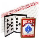 BICYCLE PARADOX Secret Z Switch Wallet Magic Trick Playing Cards Deck Prediction